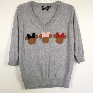 Forever 21 Disney Twist Mini Mouse Sweater